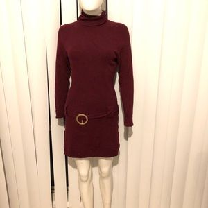 New INC. Turtleneck Sweater Dress - MED